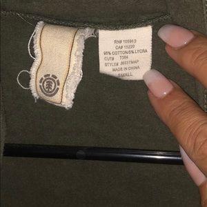 Element Jackets & Coats - Element green jacket